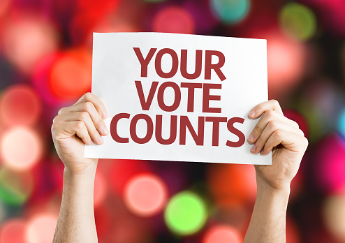 Don't forget to Vote (From Home) in Tuesday's elections