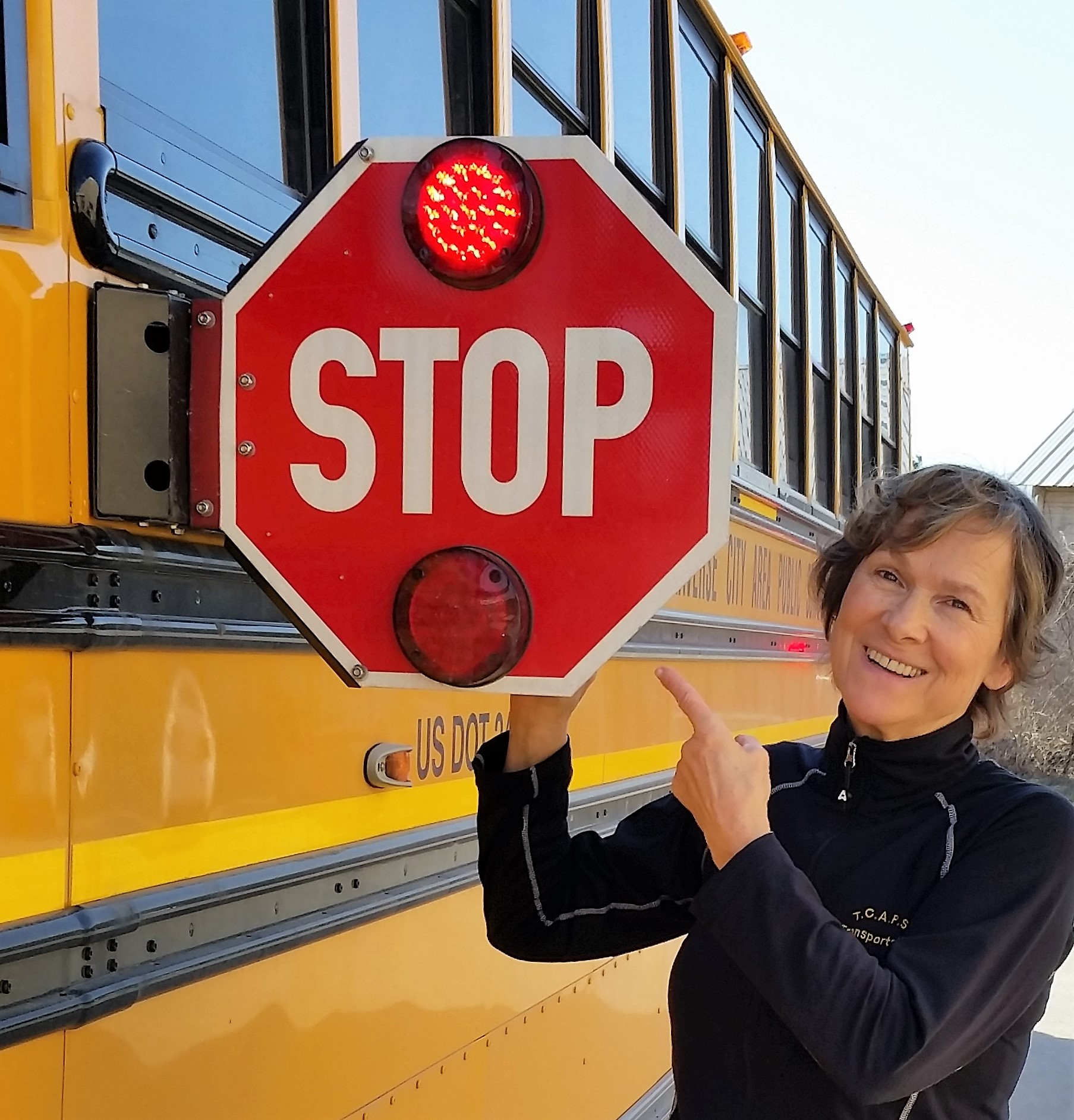 Bus Driver has 'Higher Purpose'
