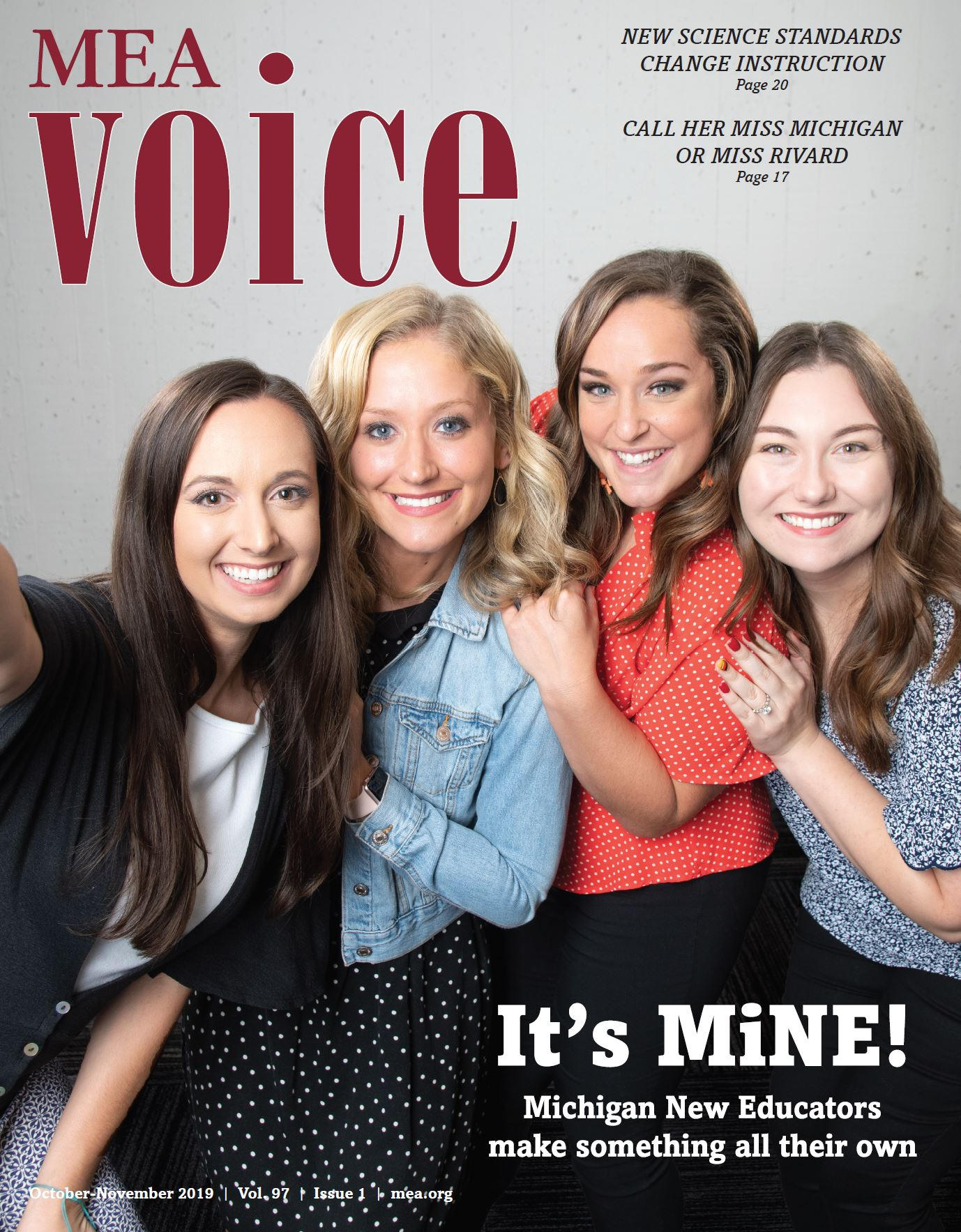 MEA Voice Magazine – October 2019