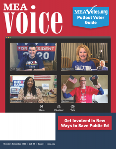 MEA Voice Magazine – October 2020 Issue