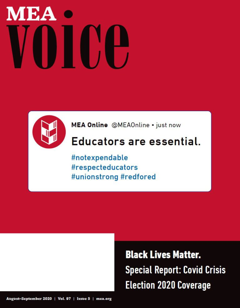 MEA Voice Magazine – August 2020 Issue