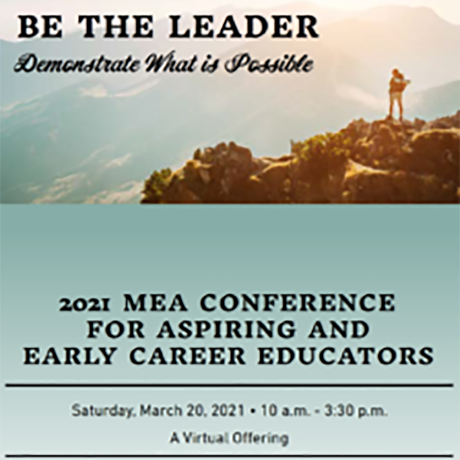 Conference Appeals to Aspiring and Early Career Educators