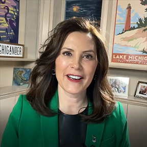 Whitmer shares MEA member story in marking pandemic anniversary