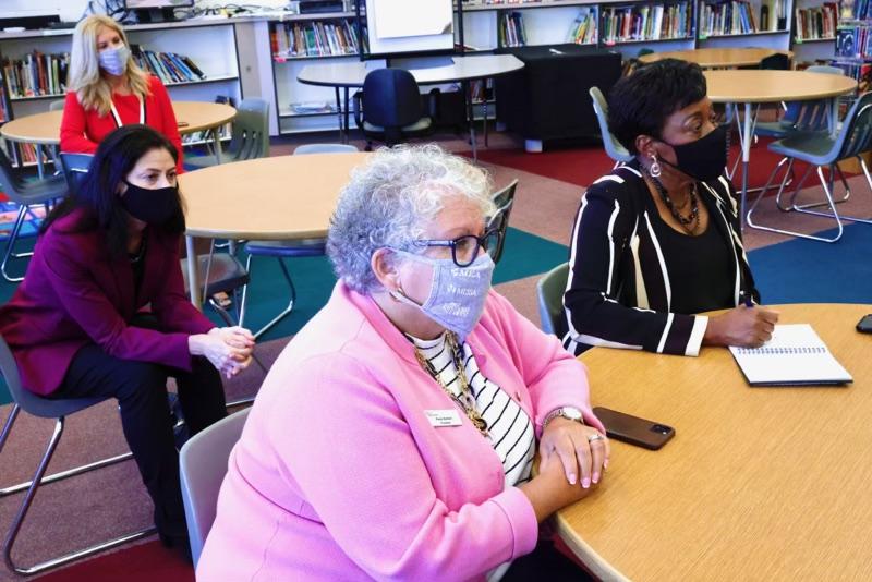 NEA & MEA Presidents, AG Nessel visit Lincoln Park's Resilient Schools program